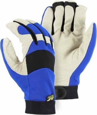 Majestic 2152TW Bald Eagle Waterproof Winter Lined Mechanics Gloves with Pigskin Palm