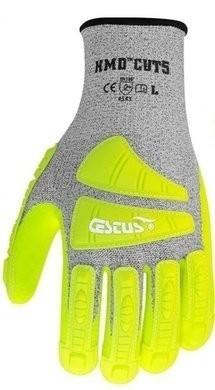 Cestus 3006 HMD Cut 5 Hi Vis Cut Resistant Gloves