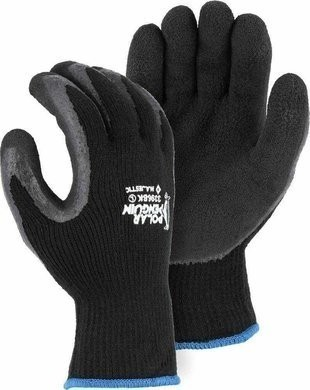 Majestic 3396 Black Polar Penguin Gloves Ansi Cut Level 2
