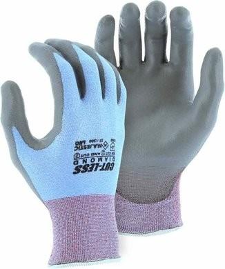 Majestic 37-1300 Dyneema 18-Gauge Cut-Less Diamond Gloves Cut Level 2