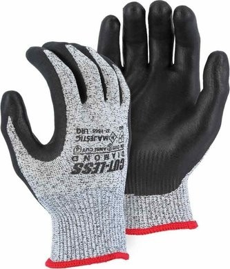 Majestic 37-1565 Dyneema 13-Gauge Cut-Less Diamond Gloves Cut Level 5