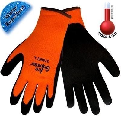 Global Glove Ice Gripster 378INT Hi Vis Cut Resistant ANSI Level A2 Gloves