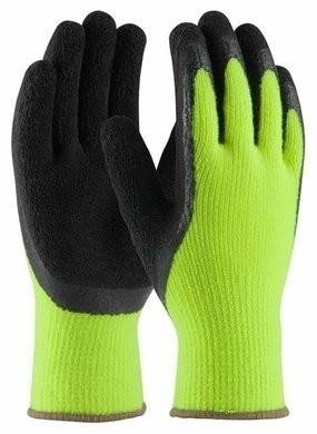 PIP 41-1420 Hi-Vis Seamless Knit MicroFinish Grip Gloves