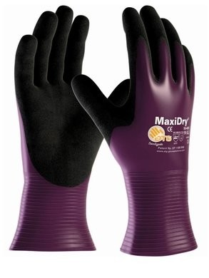 PIP MaxiDry 56-426 Ultra Lightweight Oil & Water Resistant Nitrile Coated Gloves