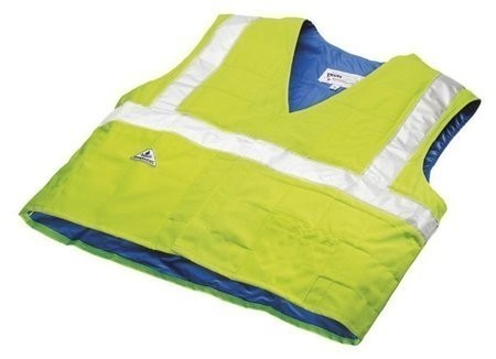 Techniche HyperKewl 6538 Evaporative Cooling Traffic Safety Vest