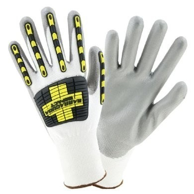 West Chester 713HGWUB Barracuda Impact Cut Resistant ANSI 2 Gloves