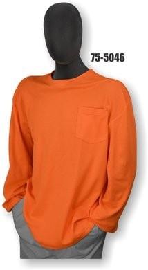 Majestic Hi Vis Long Sleeve Shirt- NON ANSI