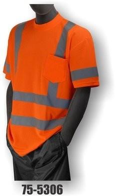 Majestic Hi-Vis Short Sleeve Shirt w/ Pocket - ANSI 3