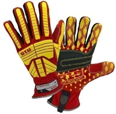 West Chester 87015 R15 Rigger Glove With Heavy Duty Grip and A6 Cut Protection