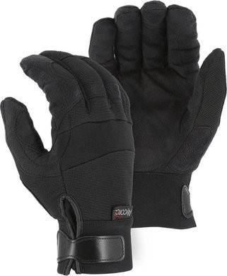 Majestic A3P37B Powercut ® with Alycore Cut & Puncture Resistant Mechanics Gloves - Ansi Cut 9