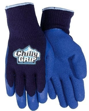 Chilly Grip Original A311 Blue Heavy Duty Gloves