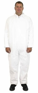 Safety Zone 60 Gram Breathable Barrier (BB) Coveralls with Open Wrists and Ankles