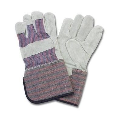 Safety Zone A Grade Split Cowhide Leather Gloves