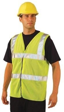 Occunomix Premium Mesh Dual Stripe Vest - ANSI 2