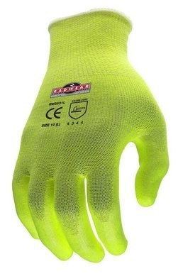 Radians RWG531 Radwear Silver Series Hi Vis Cut Level 3 Grip Gloves