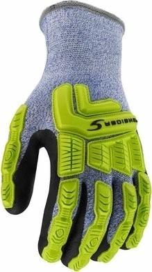 Radians RWG604 Cut Level 5 Cold Weather Hi Vis Gloves