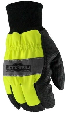 Radians RWG800 Radwear Silver Series Hi-Vis Thermal Lined Gloves