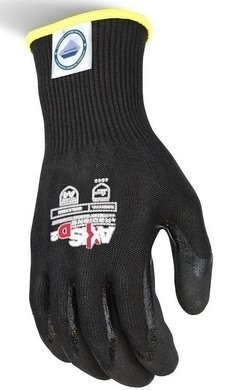 Radians RWGD108 Axis D2 Cut Protection Level A4 Black Dyneema Gloves