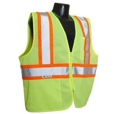 Radians SV225 Self Extinguishing Two Tone Vest- ANSI 2