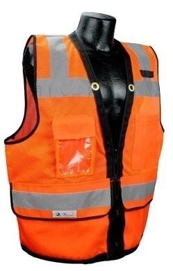 Radians SV59Z Class 2 Heavy Duty Surveyor Safety Vest