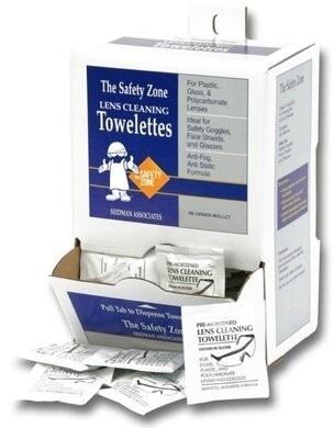 Safety Zone Lens Cleaning Towelettes