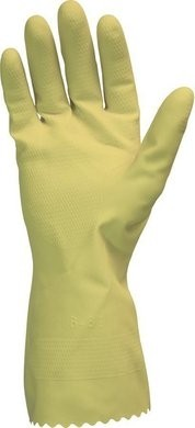 Safety Zone GRFY-2E 12 Mil Yellow Flock Lined Gloves
