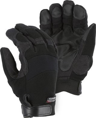 Majestic A5B39B Alycore 5/10BP Double PVC Palm Cut Resistant Level 5+ Gloves