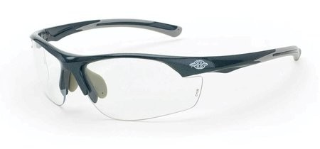 Crossfire AR3 1664 Clear Lens, Gray Frame Safety Glasses