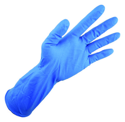 Ultragard Diamonite HD 12 Mil Nitrile Powder Free Gloves with Aggressive Super Grip
