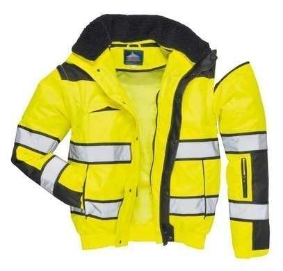 Portwest Hi Vis Classic 3 in 1 Waterproof Bomber Jacket
