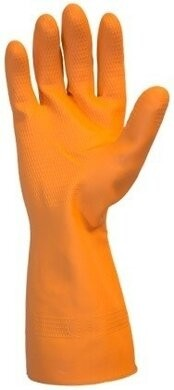 Safety Zone GRFO-1SF Neoprene Latex Blend Flock Lined Chemical Resistant Gloves