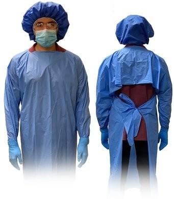 Keystone Polyethylene Isolation Gowns