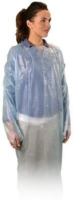 Keystone ISO-TL-BLUE-A Cross Linked Polyethylene AAMI Level 2 Isolation Gowns