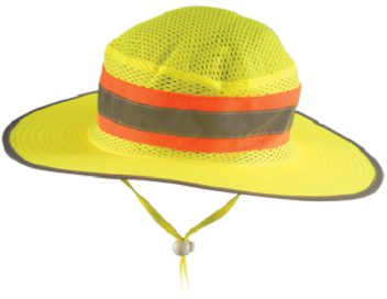 Occunomix LUX-RNG Hi Vis Ranger Hat With Mesh Top