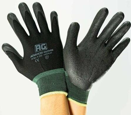 Advanced Gloves P200 NiTex Nitrile Foam Coated General Work Gloves