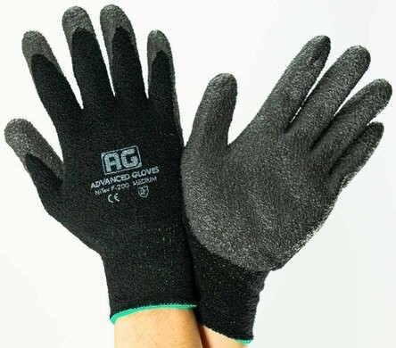 Advanced Gloves P200W Winter Liner Touchscreen Gloves With Nitrile Foam Coating