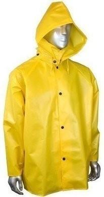 Radians RJ33-NSYY Aquarad™25 TPU/Nylon Waterproof Rain Jacket - Hood Sold Separately