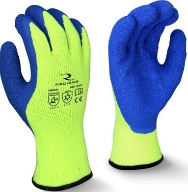 Radians RWG27 Dipped Winter Gripper - Cut Level A3 Gloves