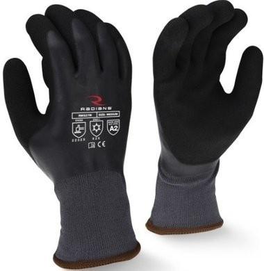 Radians RWG28 Cut Level A2 Waterproof Winter Gripper Gloves