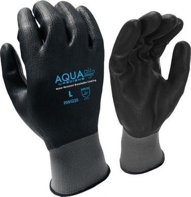 Radians RWG35 AQUA Micro Foam Nitrile Gloves