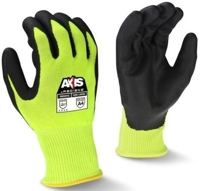 Radians RWG564 AXIS™ Hi Vis Cut Level A4  Gloves