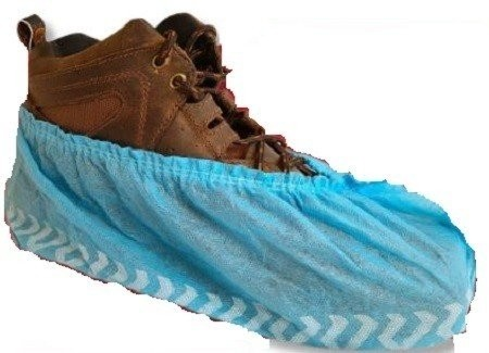 International Enviroguard Polypropylene Non Skid Shoe Covers - Made in Mexico