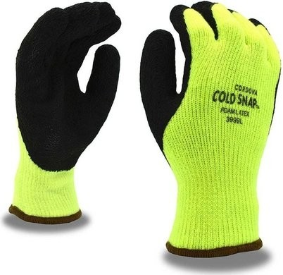 Cordova 3999 Cold Snap Insulated Latex Palm Coated Gloves