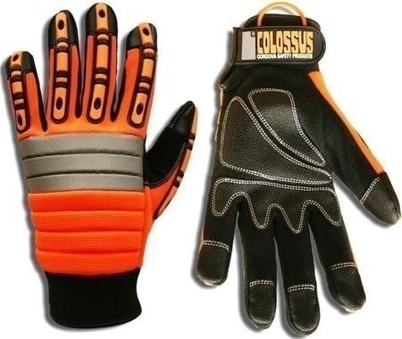 Cordova Ogre 7745 Colossus Hi Vis Mechanic Impact Gloves