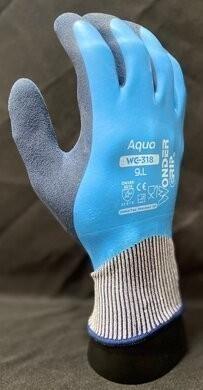 Bellingham WG318 WonderGrip Double-Dipped Natural Rubber Gloves - 4 Pair Pack