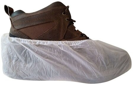 International Enviroguard Heavy Duty CPE Shoe Covers - Made in Mexico -  Up to Size 12