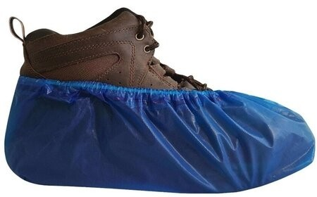 International Enviroguard Heavy Duty CPE Shoe Covers - Made in Mexico