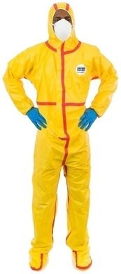 Enviroguard Tyvek Like Chemical Resistant Coveralls - Hood & Boot