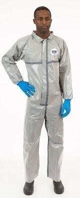 Enviroguard Tyvek Like Chemical Resistant Coveralls - Elastic Wrists