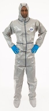 Enviroguard  Tyvek Like Chemical Resistant Coveralls - Hood & Boots